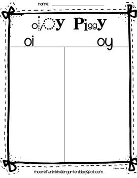 Oi/Oy Response Sheet