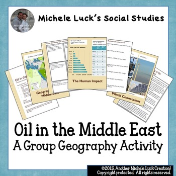 Oil in the Middle East Response Group Activity - Geography