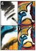 Oiseaux à la Riopelle: arts plastiques