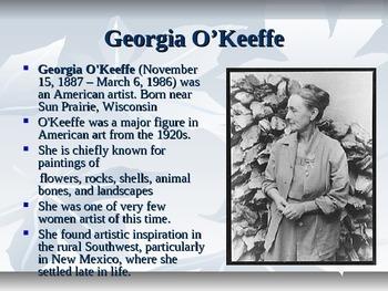 O'keeffe and pointsettias!