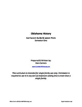Oklahoma History Semester One