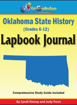 Oklahoma State History Lapbook Journal