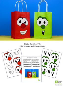 Olaf Gift Bag Template