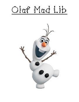 Olaf'a Mad Lib