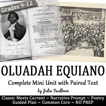 "Olaudah Equiano's ""The Interesting Life"" Memoir Teaching P"