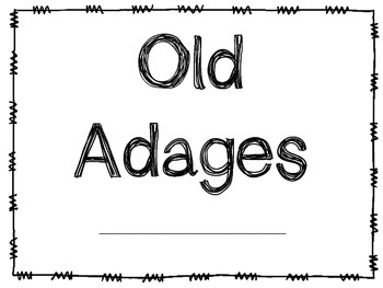 Old Adage Book