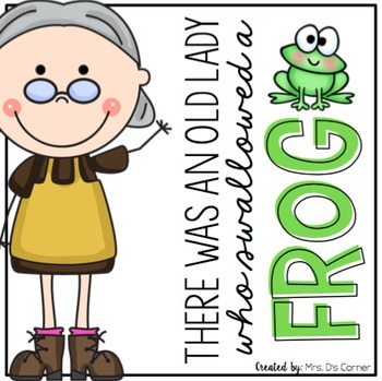 Old Lady Swallowed a Frog Book Companion