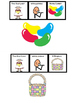 Old Lady Who Swallowed A Chick AdpatedManipulatives (Speec