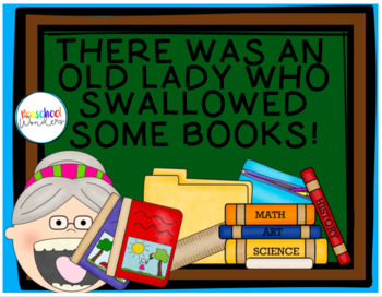 Old Lady Who Swallowed Some Books Essential Questions/Stor