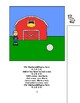 Old MacDonald Had a Farm ADAPTED VELCRO BOOK, SPEECH THERA
