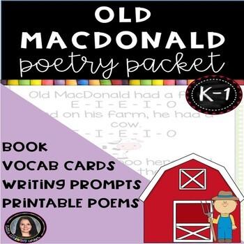 Old MacDonald Poetry Packet