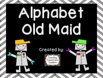 Old Maid: Alphabet and Numbers