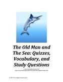 Old Man and The Sea Novel Unit Bundle