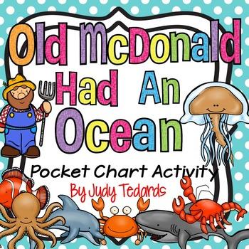 Old McDonald Had An Ocean (Pocket Chart Activity)