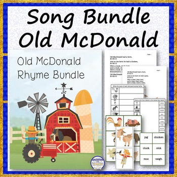 SONG BUNDLE Old McDonald