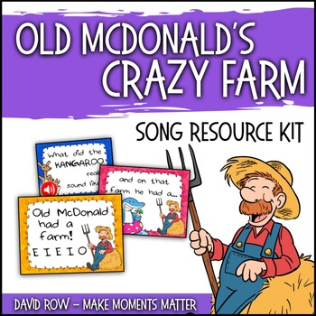 Old McDonald's CRAZY Farm!  Mix and Match Song