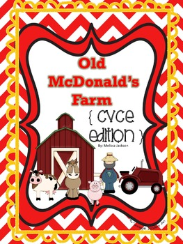 Old McDonald's Farm { CVCE Edition } Phonics Game