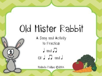 "Old Mister Rabbit: A Song and Activity to Practice ""Ta"", """