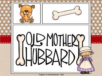 Old Mother Hubbard - Comic Strip Nursery Rhyme Story Telli