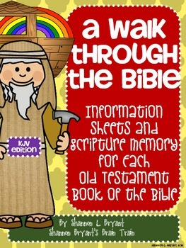 Old Testament Bible Verses and Background Info (KJV School