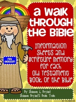 Old Testament Bible Verses and Background Info (NIV School