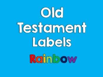 Old Testament Labels-Rainbow