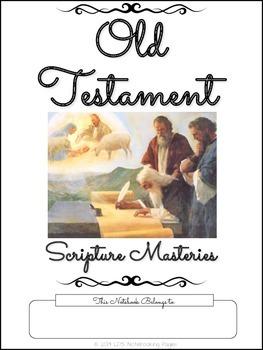 Old Testament Scripture Masteries - Cursive
