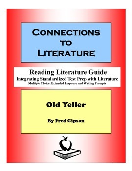 Old Yeller-Reading Literature Guide