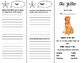 Old Yeller Trifold - Reading Street 6th Grade Unit 1 Week 1