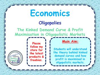 Oligopolies - Kinked Demand Curve & Profit Maximisation in