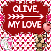 Olive, My Love: Reading and Grammar Mentor Text Unit