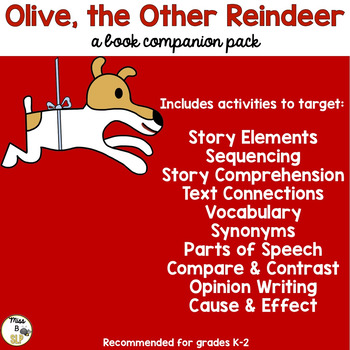 Olive the Other Reindeer: A Companion Pack