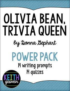 Olivia Bean, Trivia Queen Power Pack:  14 Writing Prompts