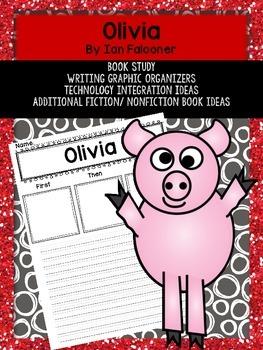 Olivia Book Study Graphic Organizers