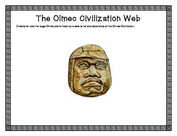 Olmec Civilization Web