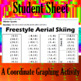 Freestyle Aerial Skiing - A Coordinate Graphing Activity