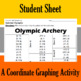 Olympic Archery - A Coordinate Graphing Activity