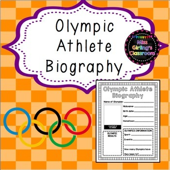 Olympic Athlete Biography