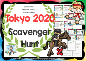 Rio - Summer Olympic Games - Scavenger Hunt - Quiz - Quest
