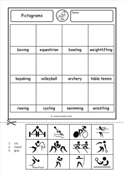 Olympic Games - worksheets - Pack B