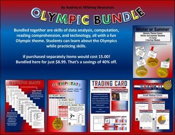 Olympic Bundle Math Data Graph
