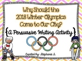 Olympic Persuasive Writing
