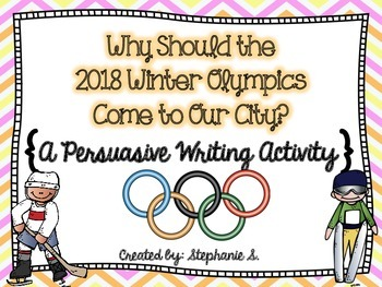 Olympic Persuasive Writing