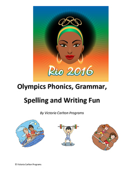 Olympic Phonics, Grammar, Spelling and Writing Fun