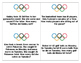 Olympic Themed Addition and Subtraction Word Problems