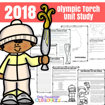 Olympic Torch Unit Study for the 2014 Winter Olympics