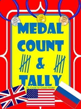 Olympic label the sport & tally the medals