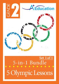 Olympics 5-IN-1 BUNDLE (Set 1 of 1) - Grade 2
