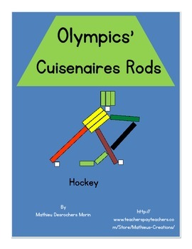 Olympics' Cuisenaire Rods (winter sports)