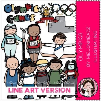 World Games by Melonheadz LINE ART